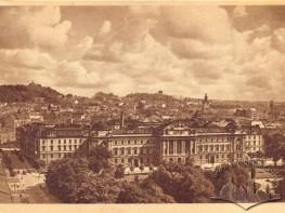 Panorama miasta i uniwersytet