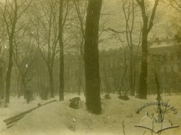 Парк Івана Франка під час польсько-української війни