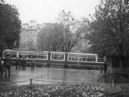 Tram at Svobody Avenue
