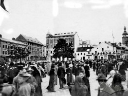 Demonstration at Halytska Square