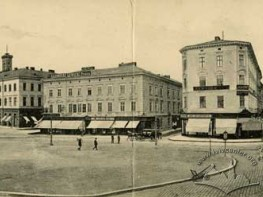 Panorama of the Central Squares of Lviv