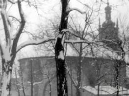 Вулиця Винниченка. Порохова вежа (кінець 1940-х років)