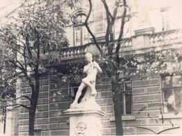 Fountain in Halytska Square
