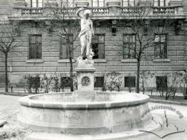 """""""Svitez Nymph"""" Fouintain in Halytska Square"""