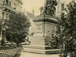 Monument to Playwright Count Aleksander Fredro