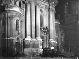 Нічний вид церкви Пресвятої Євхаристії