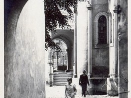 Courtyard of the Armenian Cathedral