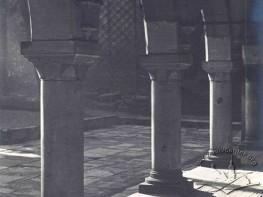 Gallery in the courtyard of Armenian church