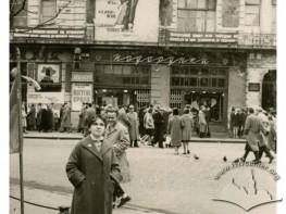 Woman in Svobody Boulevard