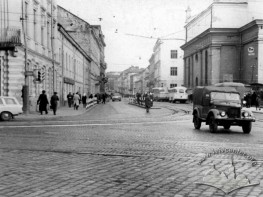 Beginning of Lychakivska Street