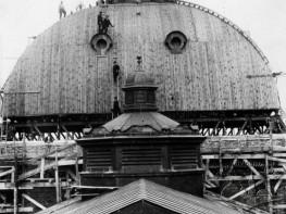 Спорудження купола міського театру
