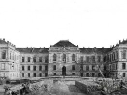 Construction of the First Buildings of the Lviv University Medical Department