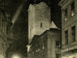 Night View of the Latin Cathedral