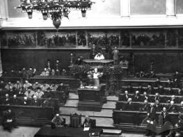 The Galician Sejm session hall