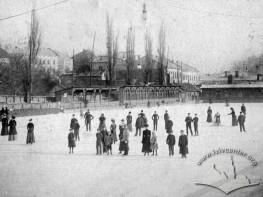 Skating ring at Sobko's pond