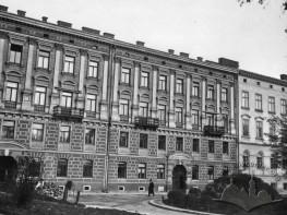 NTSh building on the former Czarnieckiego St.