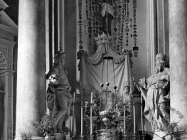 Вівтар домініканського костела Божого тіла