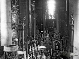 Інтер'єр Волоської  (Успенської) церкви