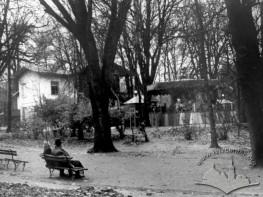 Дитячі атракціони в парку ім. І. Франка