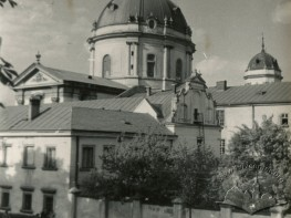 Вид на Королівський арсенал та домініканський костел
