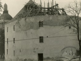 Порохова вежа під час реконструкції
