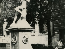 Fountain on Halytska square