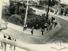Трамвайне перехрестя між вулицями Котляревського, ген.Чупринки і Київською