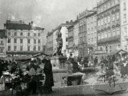 Trading on Rynok square