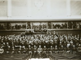 Lviv university session hall